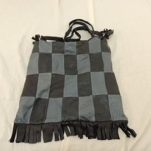 Handbags - Unbranded Checkered Style Women's Purse 50112